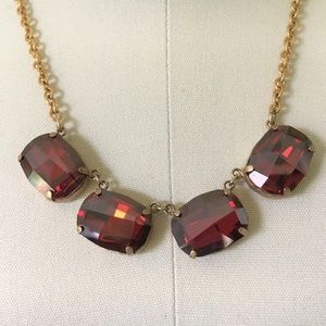 Catherine Popesco Ex-Large Oval Crystal Necklace